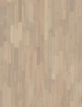 Дуб Селект VANILLA матовый 3х-полосный (Фото материала)