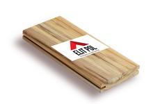 Тик 19x120x1000-1400 мм - террасная доска из экзотической породы дерева